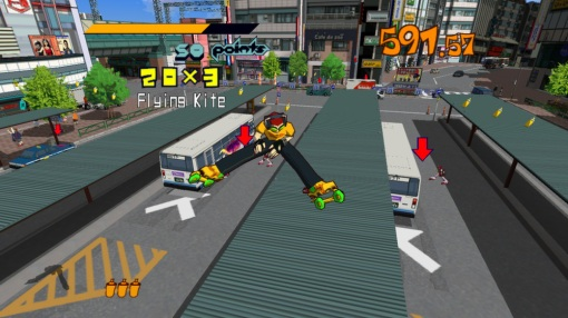Jet Set Radio HD Screenshot