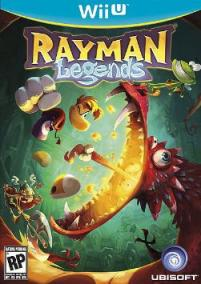 Rayman Legends Wii U Cover